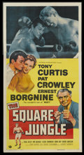 "Movie Posters:Sports, The Square Jungle (Universal, 1955). Three Sheet (41"" X 81""). Sports...."