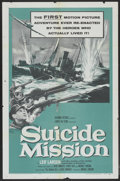 "Movie Posters:War, Suicide Mission (Columbia, 1956). One Sheet (27"" X 41""). War...."