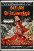 "Movie Posters:Historical Drama, The Ten Commandments (Paramount, R-1972). Poster (40"" X 60"").Historical Drama...."
