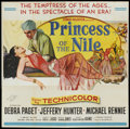 """Movie Posters:Adventure, Princess of the Nile (20th Century Fox, 1954). Autographed SixSheet (81"""" X 81""""). Adventure...."""