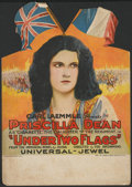 """Movie Posters:Adventure, Under Two Flags (Universal, 1922). Counter Standee (10.5"""" X14.75""""). Adventure...."""