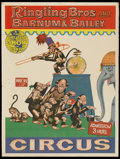"""Movie Posters:Miscellaneous, Circus Poster Lot (Ringling Brothers and Barnum and Bailey, 1960s). Circus Posters (4) (20.5"""" X 26.75""""). Miscellaneous.... (Total: 4 Items)"""