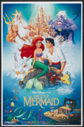 "Movie Posters:Animated, The Little Mermaid (Buena Vista, 1989). Standee (26"" X 40""). Animated...."