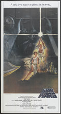 """Movie Posters:Science Fiction, Star Wars (20th Century Fox, 1977). International Three Sheet (41""""X 81"""") Style A. Science Fiction...."""