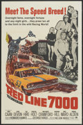 """Movie Posters:Sports, Red Line 7000 (Paramount, 1965). One Sheet (27"""" X 41""""). Sports...."""