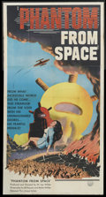 """Movie Posters:Science Fiction, Phantom From Space (United Artists, 1953). Three Sheet (41"""" X 81"""").Science Fiction...."""