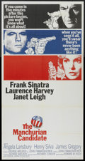 "Movie Posters:Thriller, The Manchurian Candidate (United Artists, 1962). Three Sheet (41"" X 81""). Thriller...."