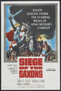 "Movie Posters:Adventure, Siege of the Saxons (Columbia, 1963). One Sheet (27"" X 41"").Adventure...."