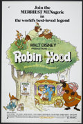 "Movie Posters:Animated, Robin Hood (Buena Vista, 1973). One Sheet (27"" X 41""). Animated...."