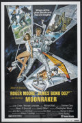 "Movie Posters:James Bond, Moonraker (United Artists, 1979). International One Sheet (27"" X 41"") Style B. James Bond...."