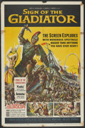 "Movie Posters:Adventure, Sign of the Gladiator (American International, 1959). One Sheet(27"" X 41""). Adventure...."