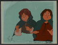 "Movie Posters:Animated, The Lord of the Rings (United Artists, 1978). Animation Cels (2) (10.5"" X 12.5""). Animated.... (Total: 2 Items)"
