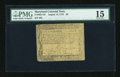 Colonial Notes:Maryland, Maryland August 14, 1776 $6 PMG Choice Fine 15....