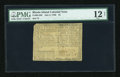 Colonial Notes:Rhode Island, Rhode Island July 2, 1780 $1 Fully Signed PMG Net Fine 12....