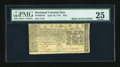 Colonial Notes:Maryland, Maryland April 10, 1774 $2/3 Radar Serial Number PMG Very Fine25....