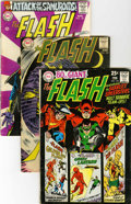 Bronze Age (1970-1979):Superhero, The Flash Group (DC, 1965-85) Condition: Average VG/FN.... (Total: 23 Comic Books)