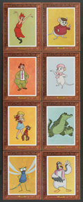 "Movie Posters:Animation, The Rescuers (Buena Vista, 1977). Special ""Picture Frame"" LobbyCard Set of 8 (11"" X 14""). Animation.. ... (Total: 8 Items)"