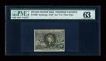 Fractional Currency:Second Issue, Fr. 1290 25c Second Issue PMG Choice Uncirculated 63....