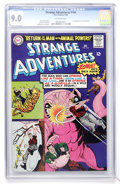 Silver Age (1956-1969):Science Fiction, Strange Adventures #184 (DC, 1966) CGC VF/NM 9.0 Off-white pages....