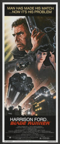 "Movie Posters:Science Fiction, Blade Runner (Warner Brothers, 1982). Insert (14"" X 36""). ScienceFiction...."