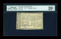 Colonial Notes:Georgia, Georgia 1776 1s/6d PMG Very Fine 20 NET....