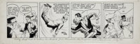 Phil Davis Mandrake the Magician Daily Comic Strip Original Art, dated 5-11-56 (King Features Syndicate, 1956)