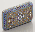 Silver Smalls:Cigarette Cases, A RUSSIAN CLOISONNÉ ENAMEL AND SILVER GILT CIGARETTE CASE.Unidentified maker, Moscow, Russia, circa 1889. Marks: 84,(M...