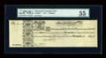 Colonial Notes:Maryland, Maryland 1733 1s PMG About Uncirculated 55....