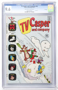 Bronze Age (1970-1979):Cartoon Character, TV Casper and Company #40 File Copy (Harvey, 1973) CGC NM+ 9.6Off-white to white pages....