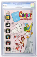 Bronze Age (1970-1979):Cartoon Character, TV Casper and Company #41 File Copy (Harvey, 1973) CGC NM 9.4 Whitepages....