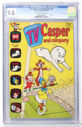 Bronze Age (1970-1979):Cartoon Character, TV Casper and Company #31 File Copy (Harvey, 1971) CGC NM/MT 9.8Off-white to white pages....