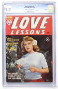 Golden Age (1938-1955):Romance, Love Lessons #2 File Copy (Harvey, 1949) CGC VF/NM 9.0 Cream tooff-white pages....