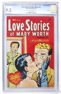 Golden Age (1938-1955):Romance, Love Stories of Mary Worth #3 File Copy (Harvey, 1950) CGC NM- 9.2Cream to off-white pages....