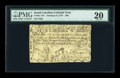 Colonial Notes:South Carolina, South Carolina February 8, 1779 $50 PMG Very Fine 20....