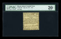 Colonial Notes:Rhode Island, Rhode Island May 22, 1777 $1/8 PMG Very Fine 20 NET....