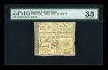 Colonial Notes:Georgia, Georgia June 8, 1777 $6 PMG Choice Very Fine 35....