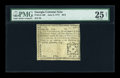 Colonial Notes:Georgia, Georgia June 8, 1777 $2/3 PMG Very Fine 25 NET....