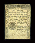 Colonial Notes:Vermont, Vermont February 1781 1s Fine-Very Fine Restored....