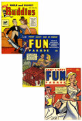 Magazines:Miscellaneous, Fun Parade Group (Harvey, 1950-59) Condition: Average VF....(Total: 6 Comic Books)