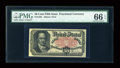 Fractional Currency:Fifth Issue, Fr. 1381 50c Fifth Issue PMG Gem Uncirculated 66 EPQ....