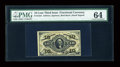 Fractional Currency:Third Issue, Fr. 1254 10c Third Issue PMG Choice Uncirculated 64....