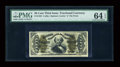 Fractional Currency:Third Issue, Fr. 1334 50c Third Issue Spinner PMG Choice Uncirculated 64 EPQ....