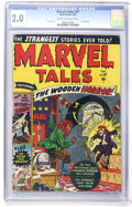 Golden Age (1938-1955):Horror, Marvel Tales #97 (Atlas, 1950) CGC GD 2.0 Cream to off-whitepages....