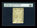 Colonial Notes:Rhode Island, Rhode Island May 1786 1s PMG Extremely Fine 40 EPQ....