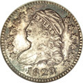 Bust Dimes, 1823/2 10C Small Es MS64 NGC....