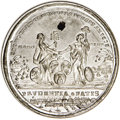 Betts Medals, 1783 Peace of Versailles Medal With Copper Plug, Choice AU....