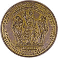 """Betts Medals, 1759 Betts-419 """"Success"""" Medal Mule in Brass...."""