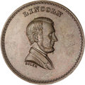U.S. Presidents & Statesmen, Pair of Lincoln Emancipation Medals.... (Total: 2 pieces)