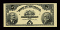 Canadian Currency: , Montreal, PQ- The Bank of Montreal $5 Jan. 3, 1911 Ch. 505-50-02PFace Proof. ...