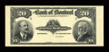 Canadian Currency: , Montreal, PQ- The Bank of Montreal $20 Jan. 3, 1911 Ch. 505-50-04PFace Proof. ...
